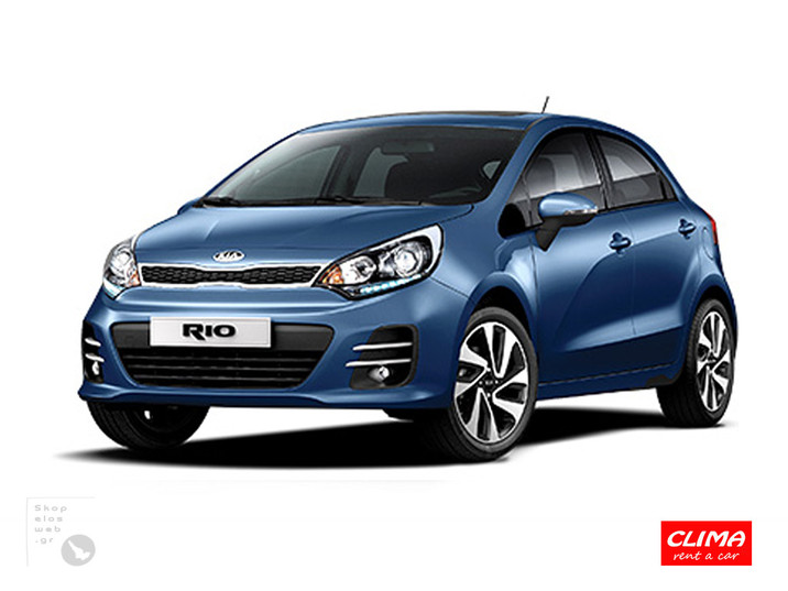 SKOPELOS CLIMA RENT CARS | GROUP C KIA RIO