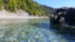 Σκόπελος παραλία Βελανιό Αιγαίο