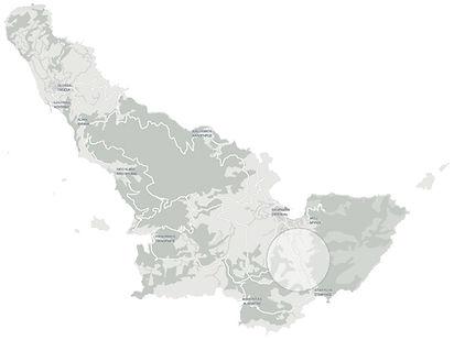 Άλκηστις τοποθεσία χάρτης . Alkistis location map