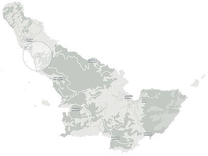 Βίλα Βουνό Χάρτης Τοποθεσία . Villa Vouno Mountain Map Location