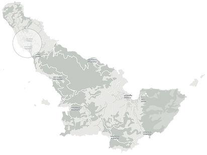 Σεληνούντα τοποθεσία Χάρτης . Selenunda location map