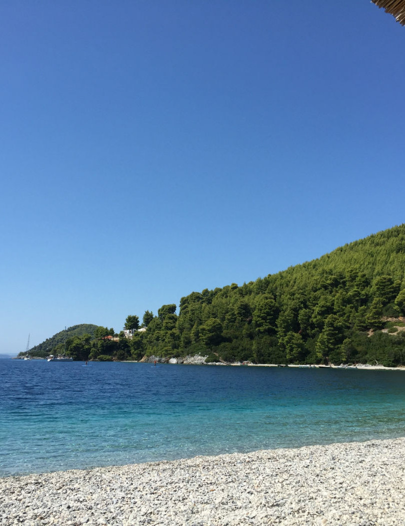 Skopelos photos Panormos beach