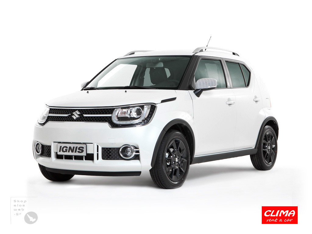 SKOPELOS CLIMA RENT CARS | GROUP D SUZUKI IGNIS 4X4