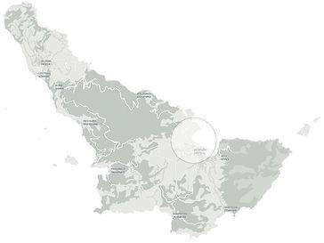Τσουκαλαριά τοποθεσία Χάρτης . Tsoukalaria location map