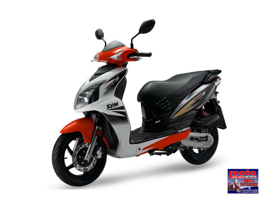 SKOPELOS MOTOR CENTER BY NICOLAS ΝΙΚΟΛΑΣ SYM JET 50cc