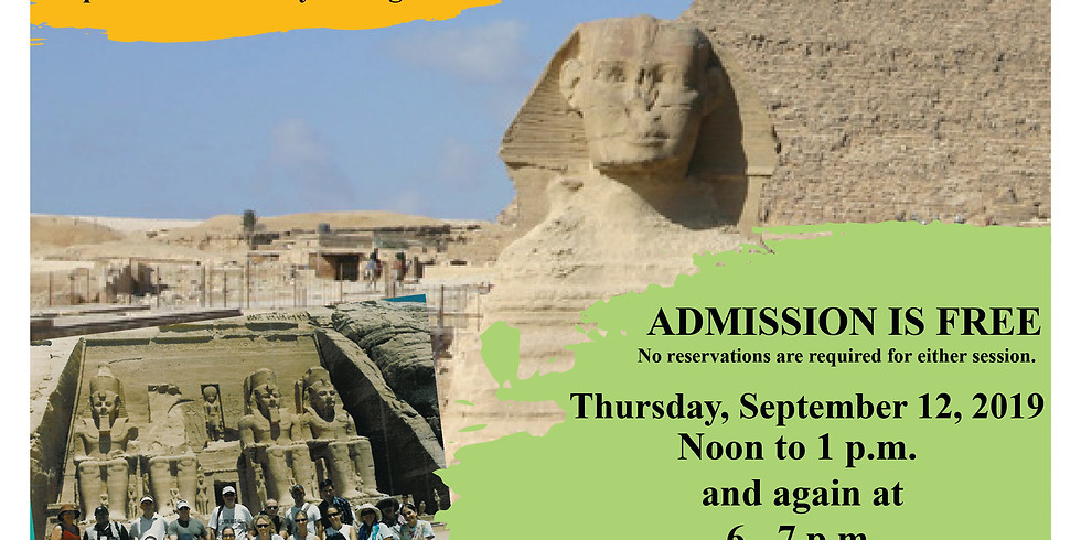 Ancient Egypt & the River Nile Programs - Trip in 2020!