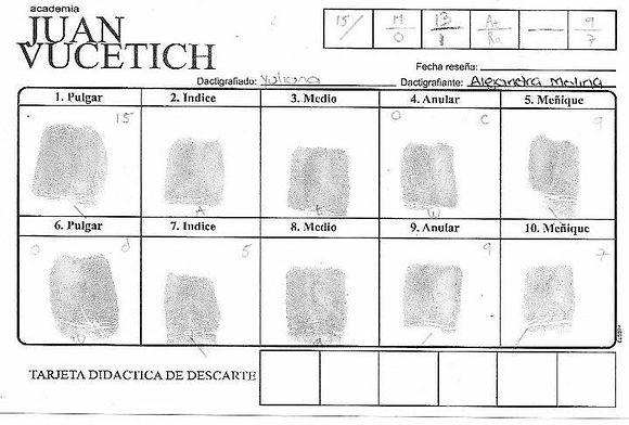Crimialistica en Ibague  Academia Juan Vucetich