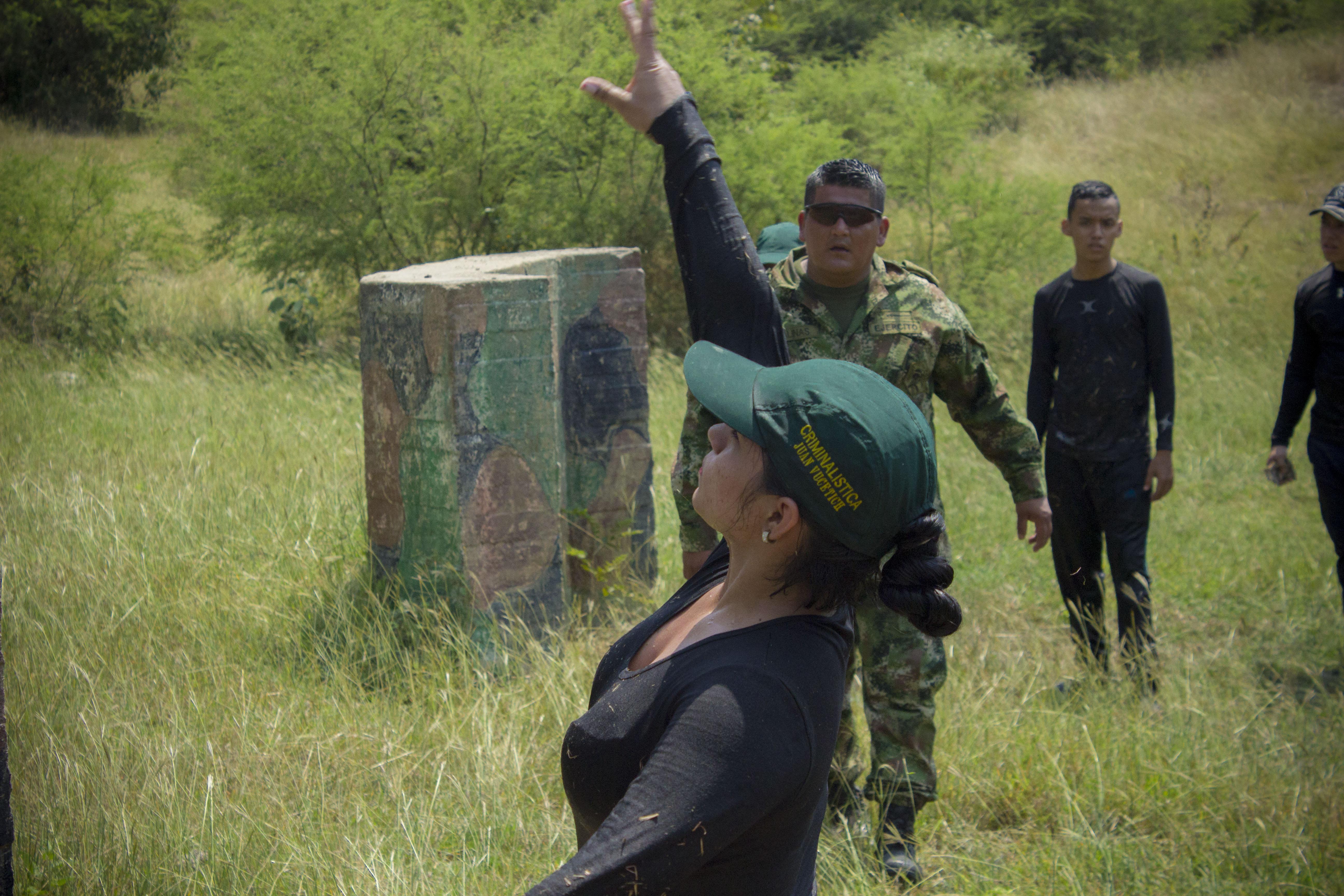 Lanzamiento de granada