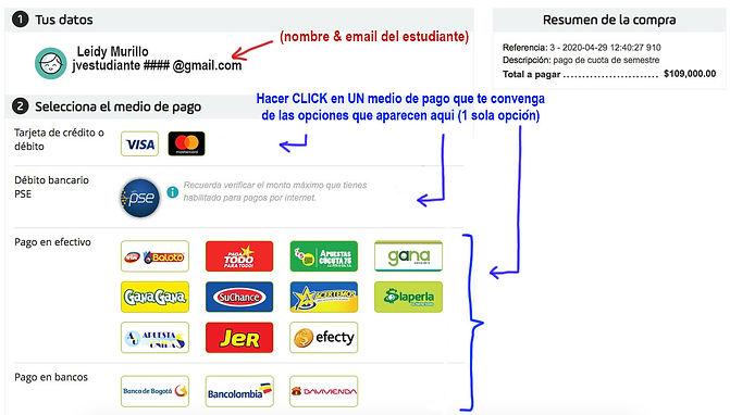 1seleccionar medio de pago-PayU.JPG