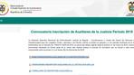CONVOCATORIAS LABORALES (auxiliares de Justicia )