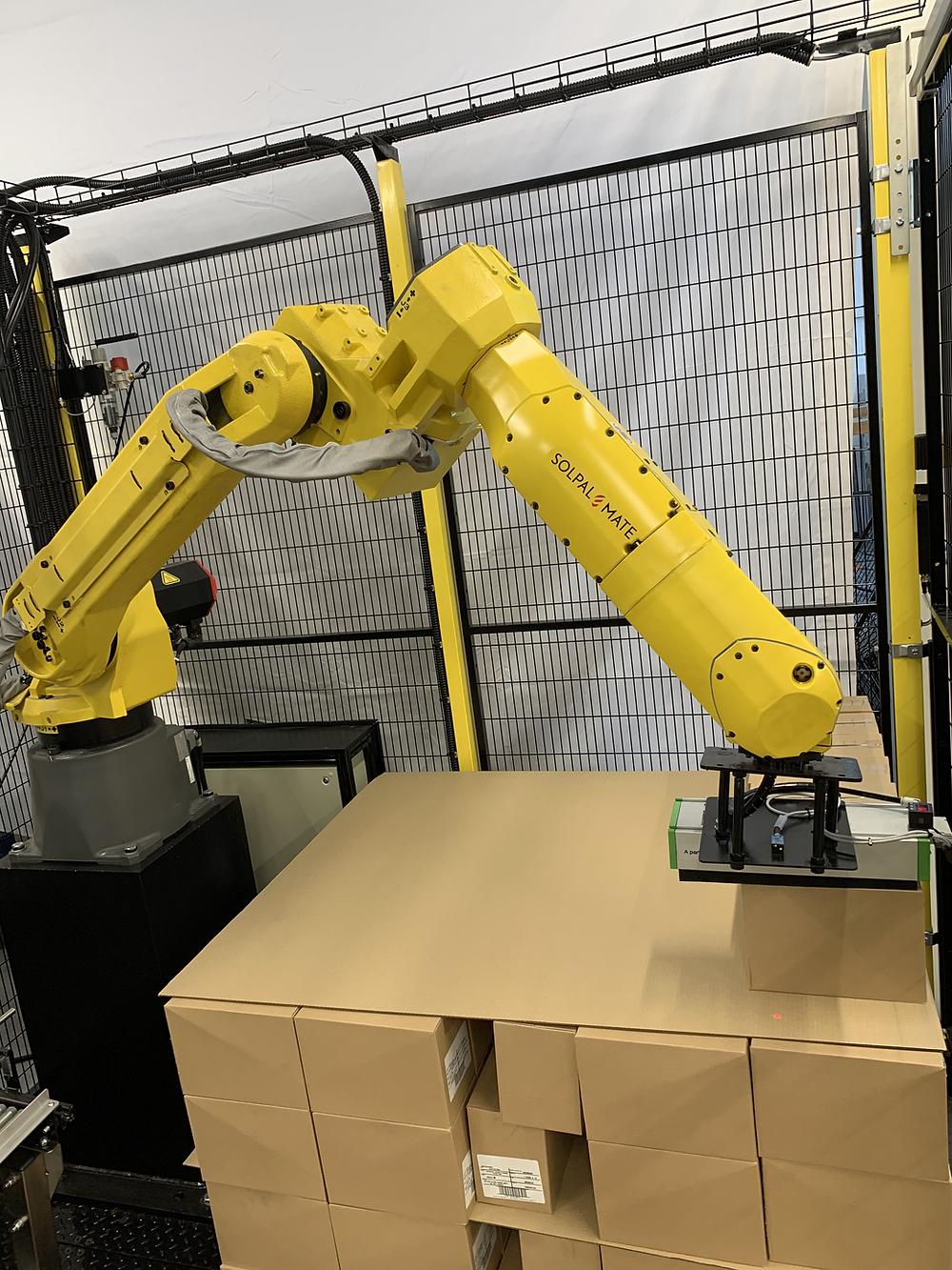 Robotic Palletiser SolPal