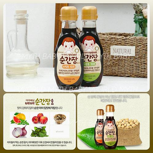 韓國Ivenet幼兒專用調味醬油 190ml