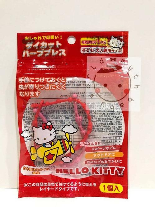 日本進口 Hello Kitty 驅蚊手帶