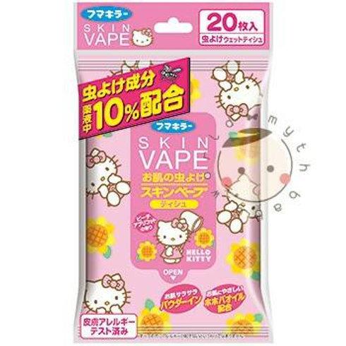 SKIN VAPE Hello Kitty防蚊濕紙巾