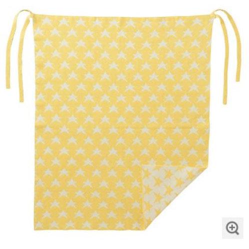 針織毯黃色