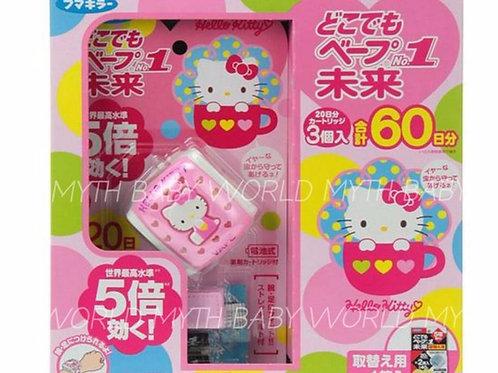 日本Fumakilla Vape 未來電子驅蚊手帶