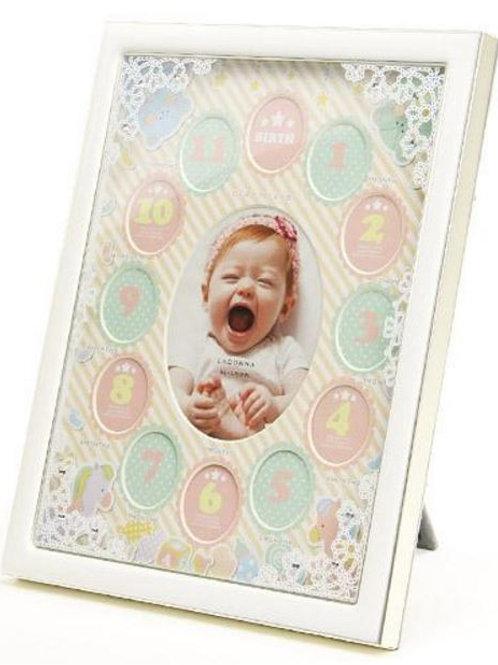 寶寶每月照片相框