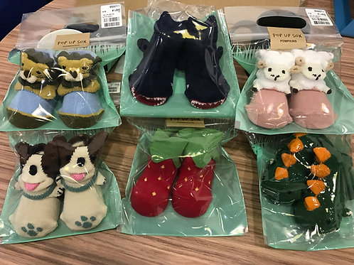 日本製造型新生兒襪子