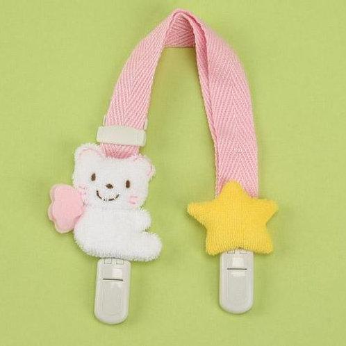 <<日本製>> 手巾/口水肩/玩具/奶咀夾 - 小熊與星星