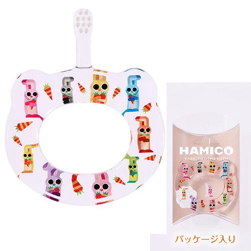 HAMICO 日本製 嬰兒牙刷 5個月至3歲適用