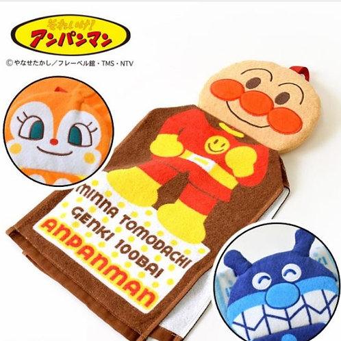 浴室掛巾/ 抹手巾 - 麵包超人系列 麵包超人
