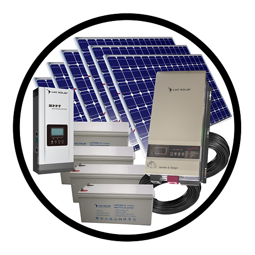 3,000W Solar Kit