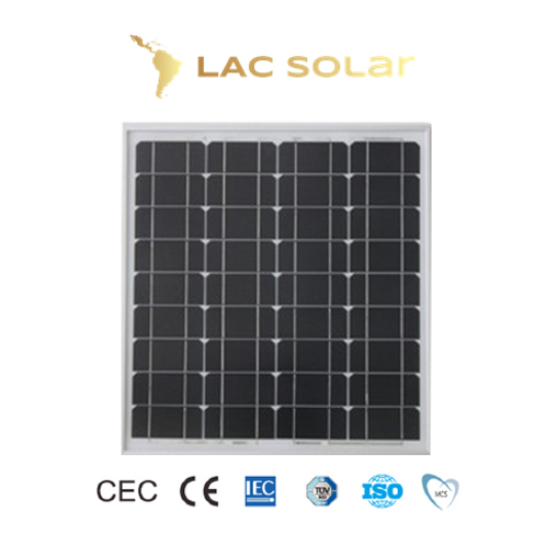 LAC Solar 50W Monocrystalline Panel