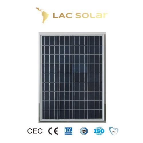 LAC Solar 70W Polycrystalline Panel