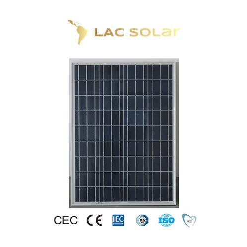 LAC Solar 80W Polycrystalline Panel