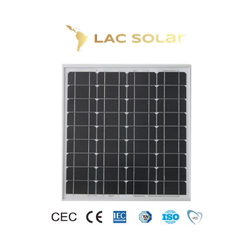 LAC Solar 60W Monocrystalline Panel