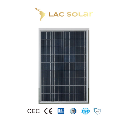 LAC Solar 100W Polycrystalline Panel