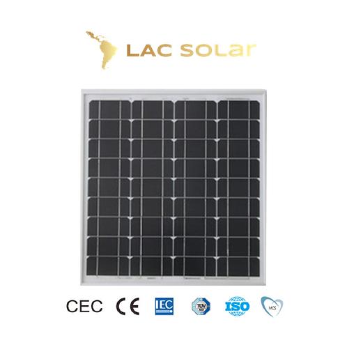 LAC Solar 70W Monocrystalline Panel
