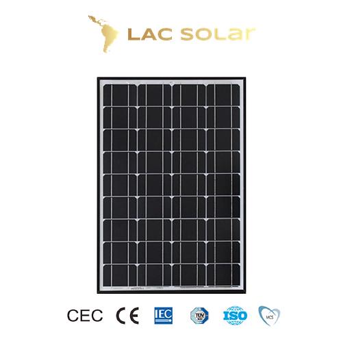 LAC Solar 120W Monocrystalline Panel