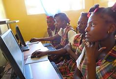 Solar Powered Computer Lab Haiti