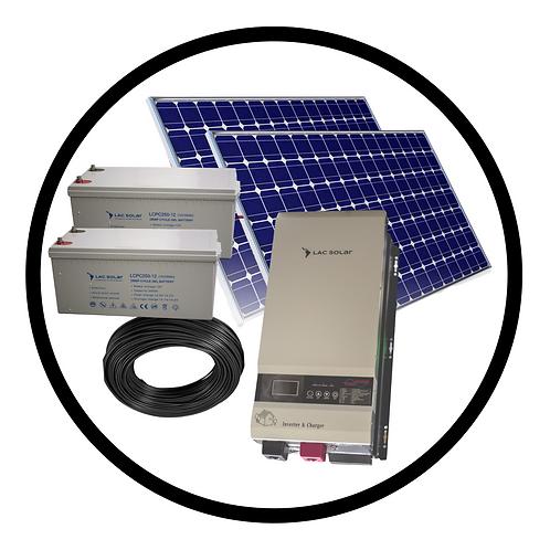 1,000W Solar Kit