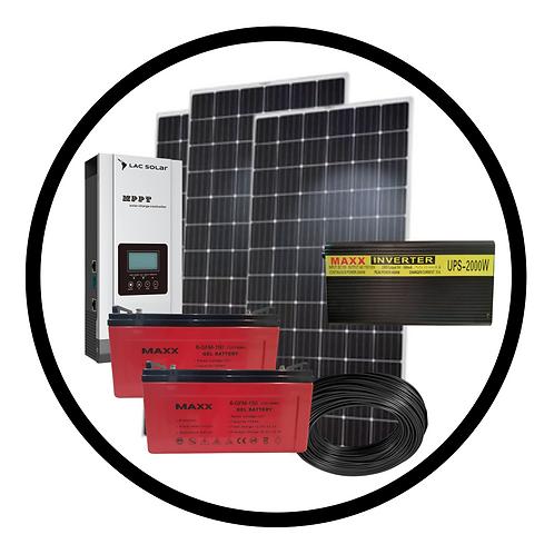 2,000W Solar Kit
