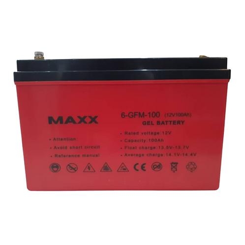 MAXX Gel Battery 12V/100AH
