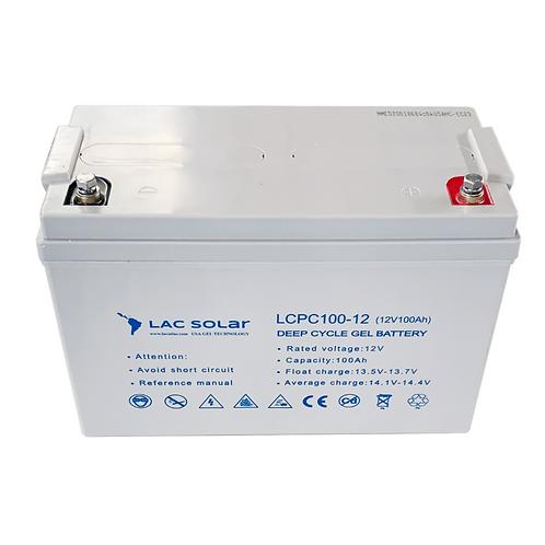 LAC Solar 12v 100ah Gel Battery