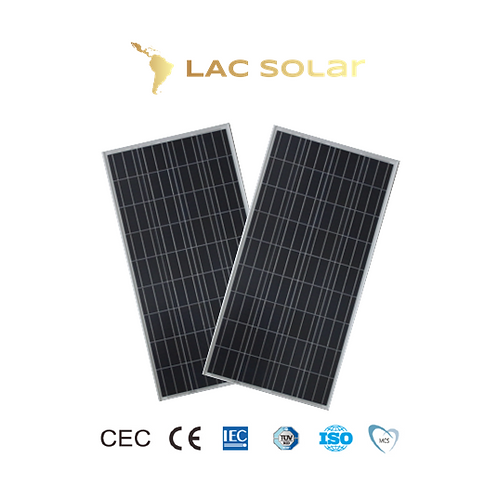 LAC Solar 150W Polycrystalline Panel