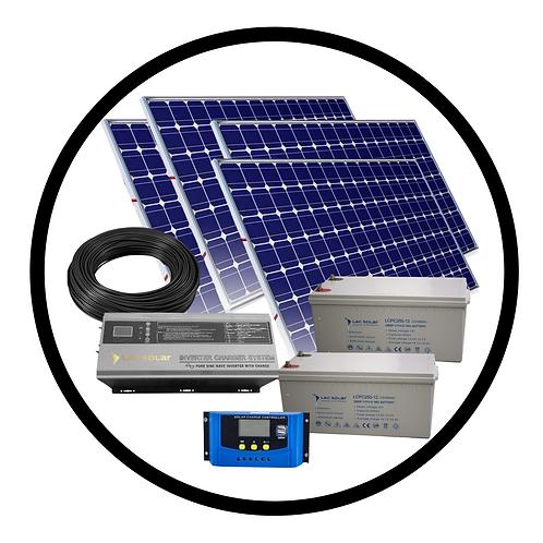 700W Solar Kit