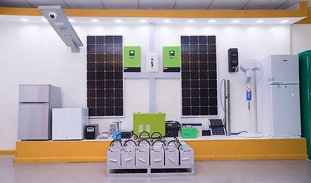 Solar energy equipment store/for sale in Haiti