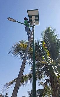 Solar Street Light Haiti