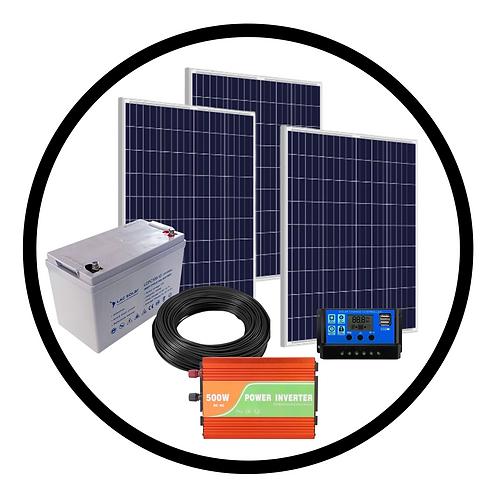 500W Solar Kit