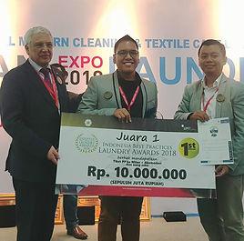 Penghargaan Indonesia Best Practice Laundry Award 2018