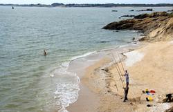 Pêche à la ligne à Damgan