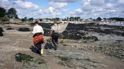 Pêche à pied à Damgan