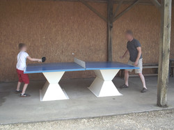 Ping-pong au camping Ty Breiz **