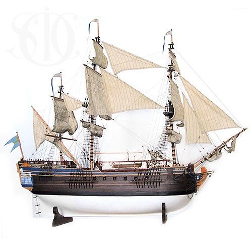 Skeppsmodell, 75 cm