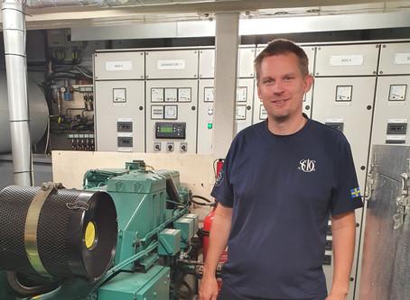 Meet the crew - Chief Engineer Erik Palholmen