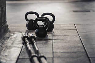 Kettle Bells and Weight Bars
